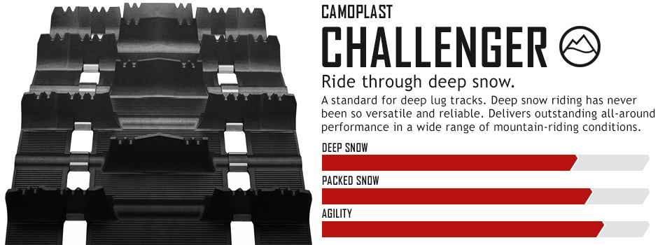 Challenger Snowmobile Track