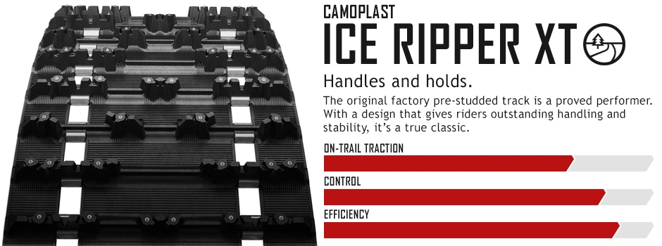ICE Ripper XT™ : Snowmobile Track Warehouse
