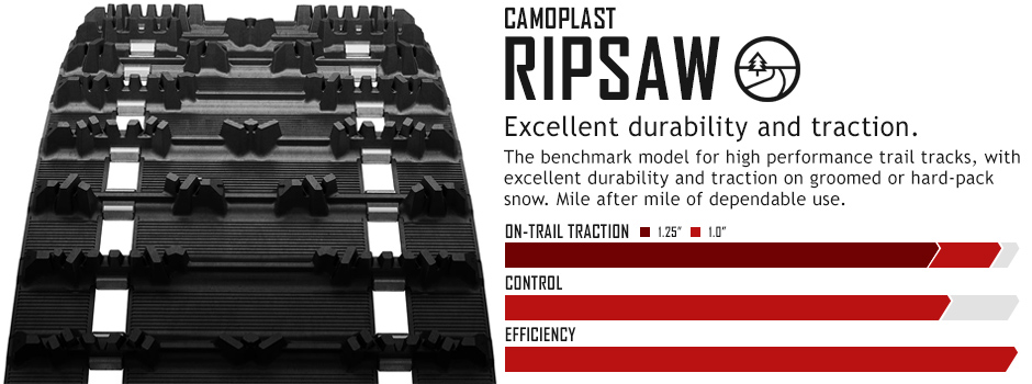 RipSaw™ : Snowmobile Track Warehouse
