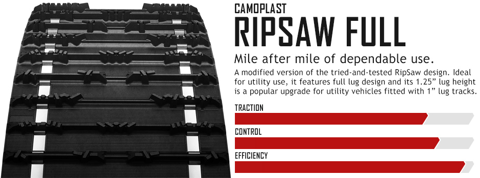 RipSaw Full Snowmobile Track